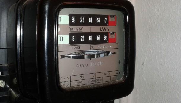 draaischijf energiemeter