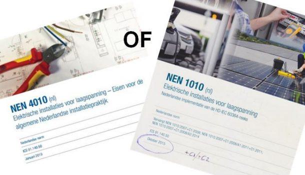 Norm NEN 4010